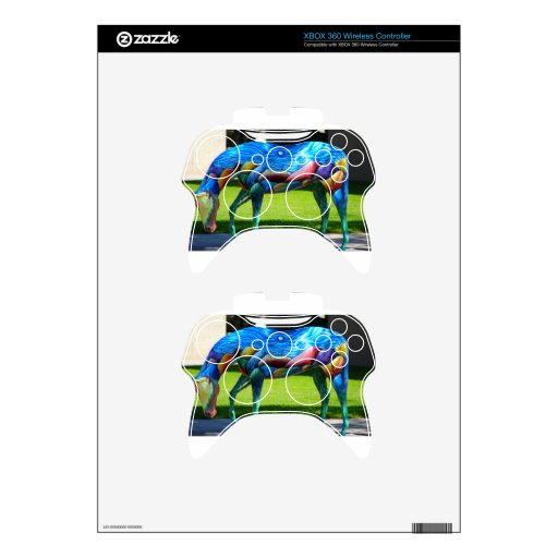 Beautiful colors Horse Xbox 360 Controller Skins