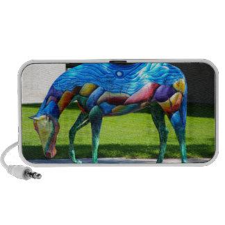 Beautiful colors Horse Speakers