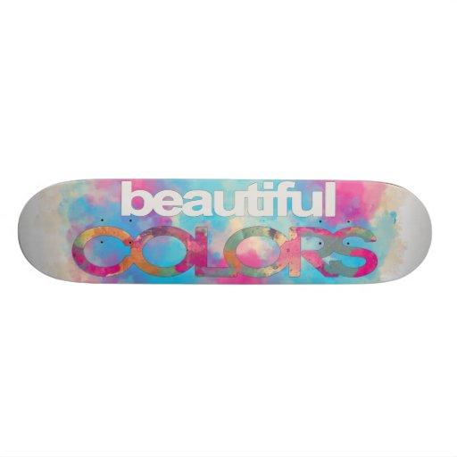 Beautiful Colors Skate Deck