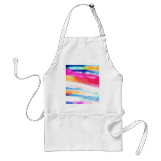 Beautiful Colors, Style Fashion Blur Motion Effect Adult Apron