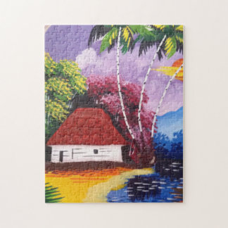 Beautiful Colourful house 10x14 Photo Puzzle