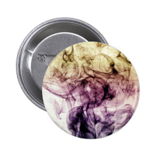 Beautiful Colourful Smoky Dust Pinback Buttons