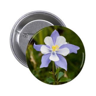 Beautiful Columbine Pinback Button