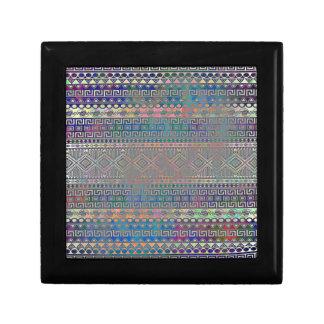 Beautiful cool colourful Aztec geometric pattern Gift Boxes