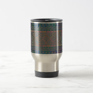 Beautiful cool colourful Aztec geometric pattern Travel Mug