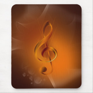 Beautiful cool glowing fire colours effects music mouse pad