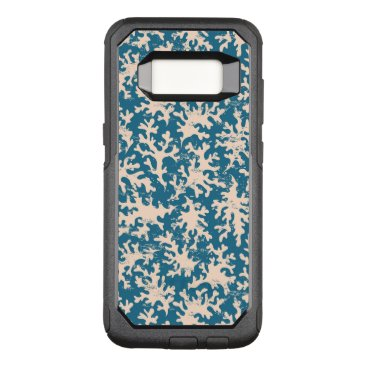 Beach Themed Beautiful Coral Pattern OtterBox Commuter Samsung Galaxy S8 Case