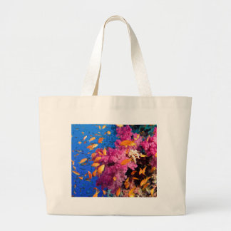 Beautiful Coral Reef Naturescape Canvas Bags