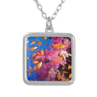 Beautiful Coral Reef Naturescape Custom Necklace