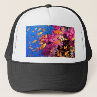 Beautiful Coral Reef Naturescape Trucker Hat