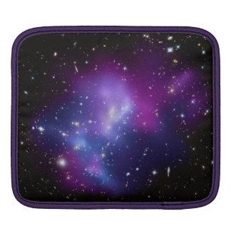 Beautiful cosmic space galaxy clusters iPad sleeve