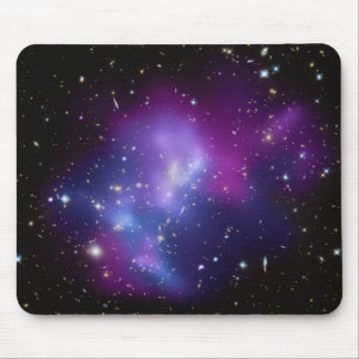 Beautiful cosmic space galaxy clusters mouse pad
