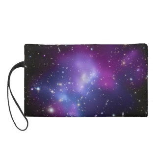 Beautiful cosmic space galaxy clusters wristlet