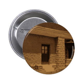 Beautiful Cottage Stone House/ Door Pinback Button