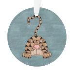 Beautiful Country Cat Ornament