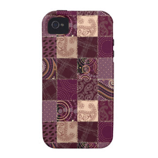 Beautiful Country Patchwork Quilt iPhone 4/4S Cover