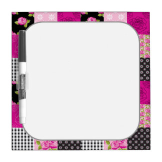 Beautiful Country Patchwork Quilt Dry Erase Boards