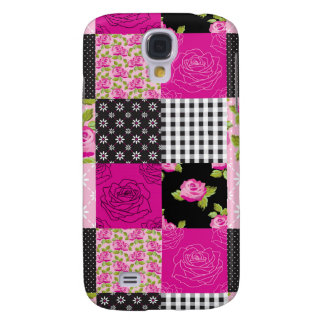 Beautiful Country Patchwork Quilt Galaxy S4 Case