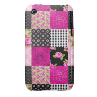 Beautiful Country Patchwork Quilt iPhone 3 Case-Mate Case