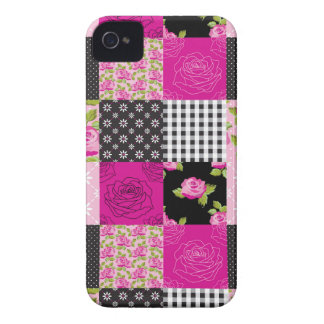 Beautiful Country Patchwork Quilt iPhone 4 Cover
