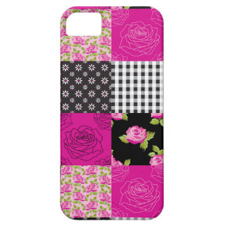 Beautiful Country Patchwork Quilt iPhone SE/5/5s Case