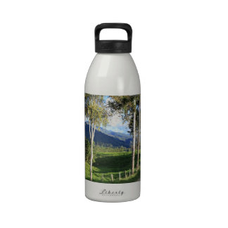 Beautiful country road Salento Colombia Water Bottle