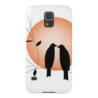 Beautiful couple love birds galaxy s5 case