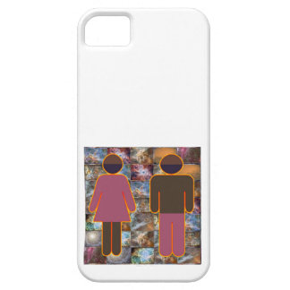 Beautiful Couple - Male Female Indicator iPhone 5 Cover