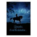 Beautiful Cowgirl Happy Birthday Ride Card