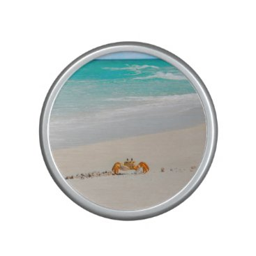 Beach Themed Beautiful Crab On The Beach Bluetooth Speaker