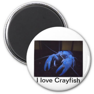 Beautiful Crayfish Gift shop and Cloth 2 Inch Round Magnet