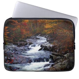 Beautiful creek nature scenery computer sleeve