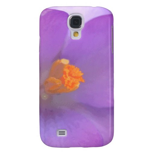 Beautiful Crocus Flower  Galaxy S4 Cover