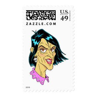 Beautiful Crone Postage Stamp