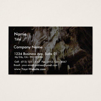 Beautiful Crystal Cave Business Card