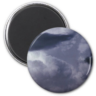 Beautiful Cumulonimbus Fridge Magnets