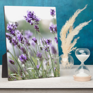Beautiful Custom Spring Flowers - Lavender Plaque