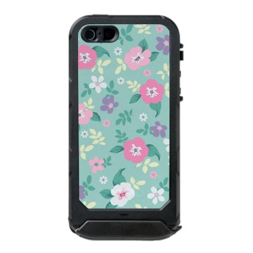 beautiful, cute, floral, flowers, girly, mint, pin ...