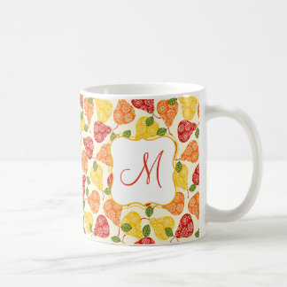 Beautiful Cute pears in autumn colors Coffee Mug