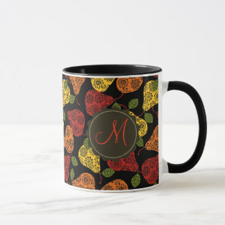 Beautiful Cute pears in autumn colors Mug
