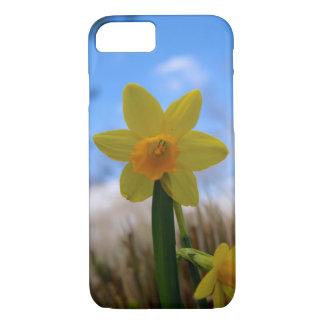 Beautiful Daffodil Against a Blue Sky iPhone 7 Case