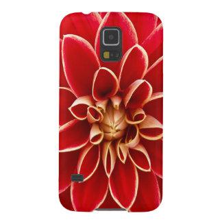 Beautiful Dahlia Flower Petals Design Case For Galaxy S5