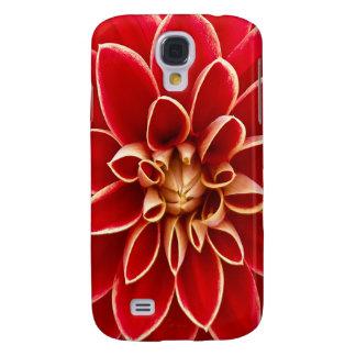 Beautiful Dahlia Flower Petals Design Galaxy S4 Case