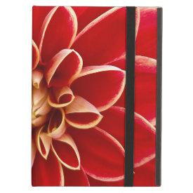 Beautiful Dahlia Flower Petals Design iPad Cover