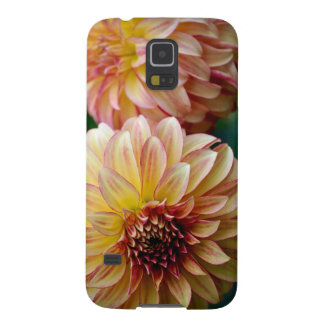 Beautiful dahlia flower print cases for galaxy s5