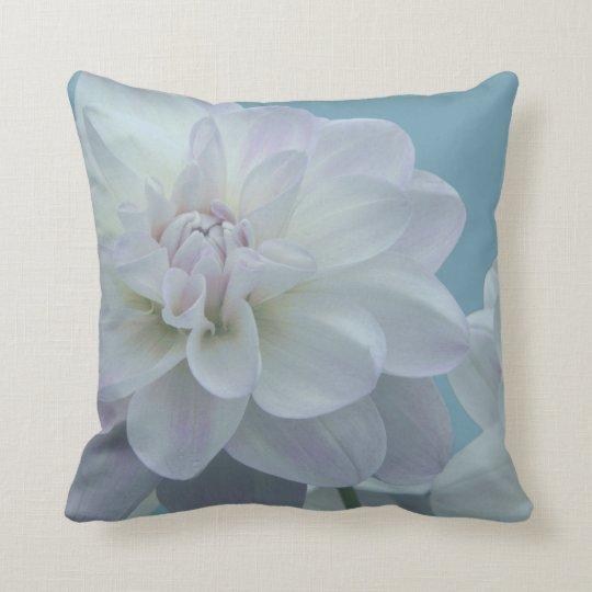 Beautiful Dahlia Flower Throw Pillow