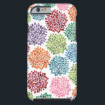 "Beautiful Dahlia Flowers iPhone 6 Tough iPhone 6 Case<br><div class=""desc"">Original Design by Pip Gerard of Pip  Hooray. A printed design originally watercolor paintings by Pip. If you wish to further move,  re-size,  add or change the text on this hard shell iPhone 6 &#39;tough&#39; cover...  just press the &#39; it&#39; button.</div>"