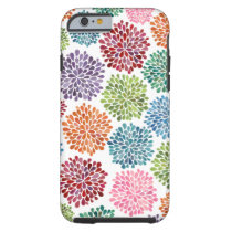 Beautiful Dahlia Flowers iPhone 6 Tough iPhone 6 Case