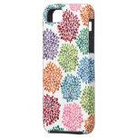 Beautiful Dahlia Flowers Iphone Case Mate iPhone 5 Cover