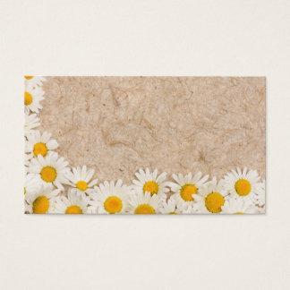 Beautiful daisies business card